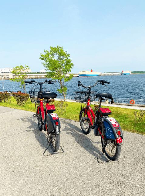 バイクシェアサイクル